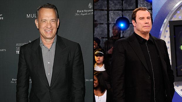 Tom Hanks e John Travolta insieme in una foto