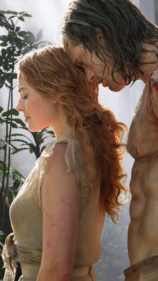 The Legend of Tarzan Margot Robbie e Alexander Skarsgård