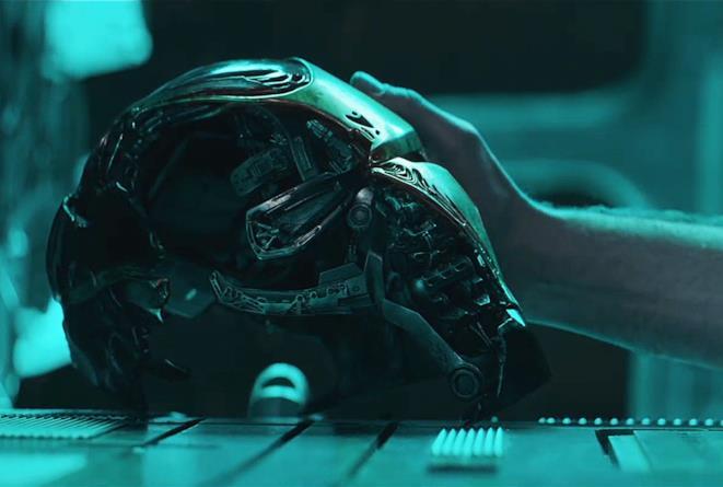 Un'immagine presa dal trailer di Avengers: Endgame