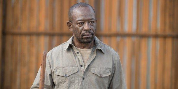 Morgan in una scena di TWD