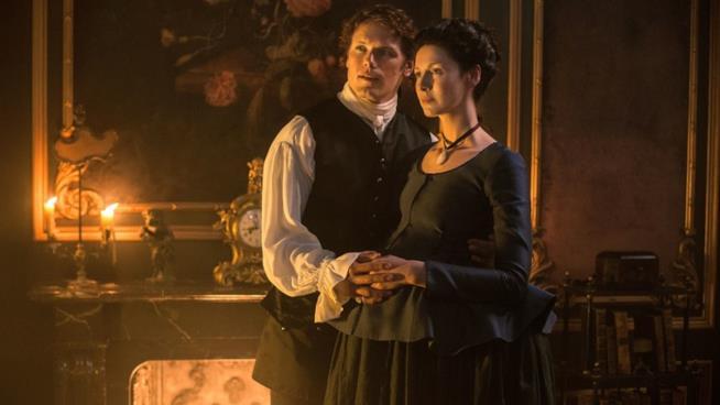 Claire e Jamie in Outlander