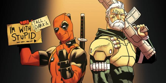 Lo strano duo composto da Deadpool e Cable