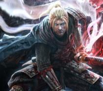 Il protagonista di Nioh pronto a combattere sulla cover del gioco