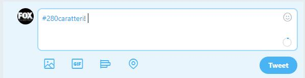 Twitter e il cerchio che conta i caratteri