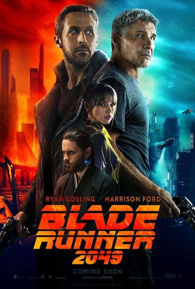 Il poster di Blade Runner 2049 di Denis Villeneuve