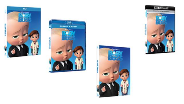 Baby Boss DVD e Blu-ray