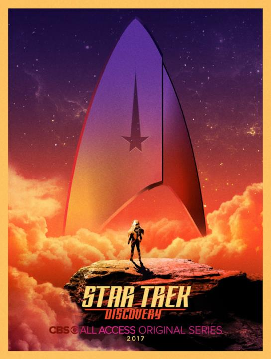 Star Trek: Discovery: poster old style