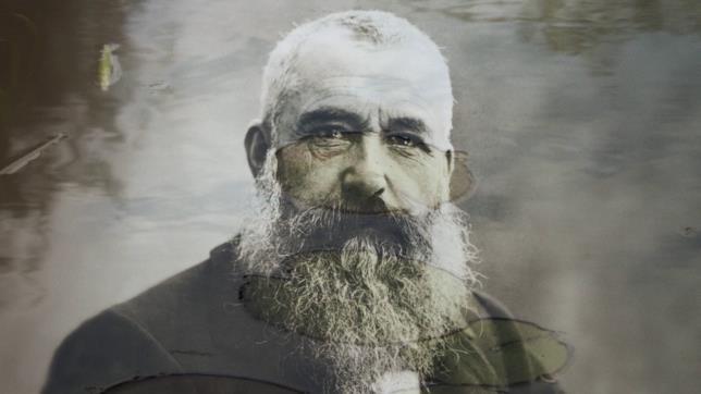 Foto d'epoca di Claude Monet
