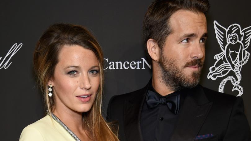 L'attrice Blake Lively e il marito Ryan Reynolds