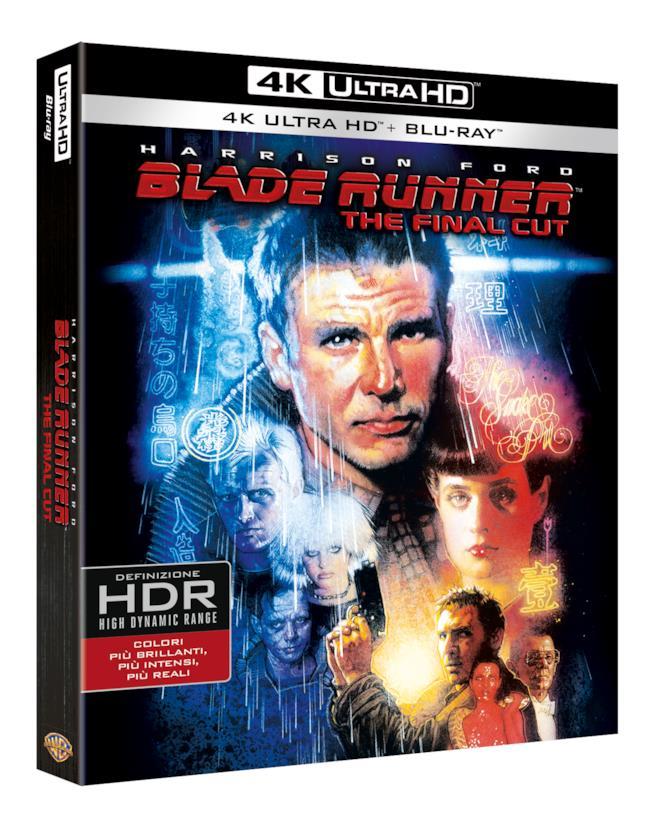 La cover dell'edizione italiana di Blade Runner: The Final Cut 4k UHD