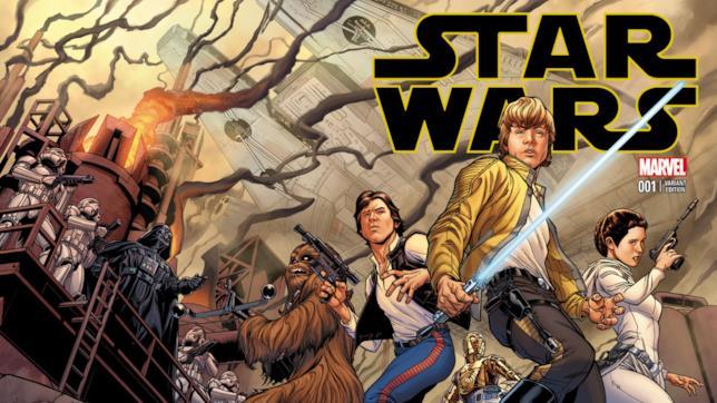 Variant Cover per Star Wars #1, il fumetto pubblicato da Marvel