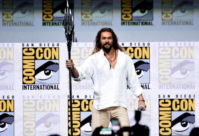 Jason Momoa al Comic-Con di San Diego