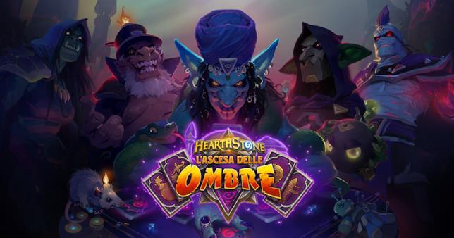 L'Ascesa delle Ombre è la nuova espansione di Hearthstone