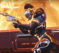 Un Titano in azione in Destiny 2