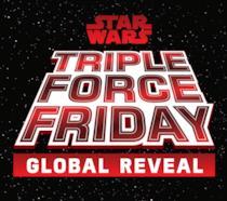 Logo Star Wars Triple Force Friday Global Reveal