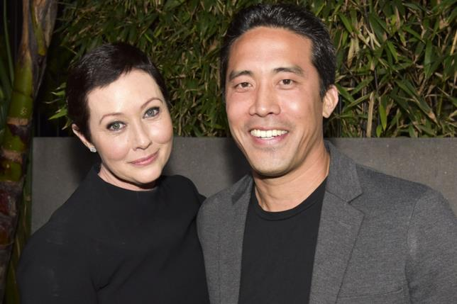 Shannen Doherty con Mark Ching