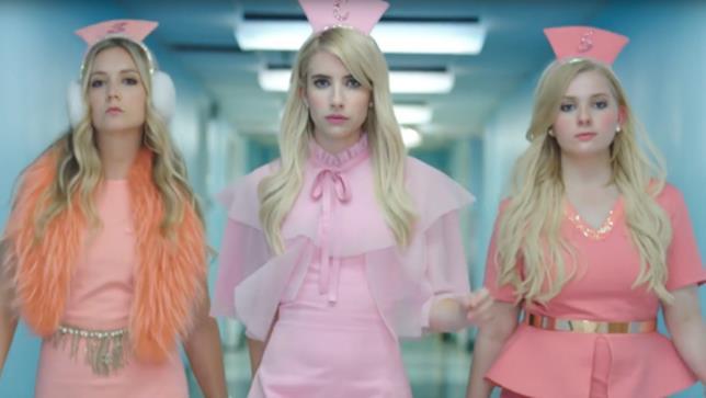 Le Chanel della serie TV Scream Queens 2