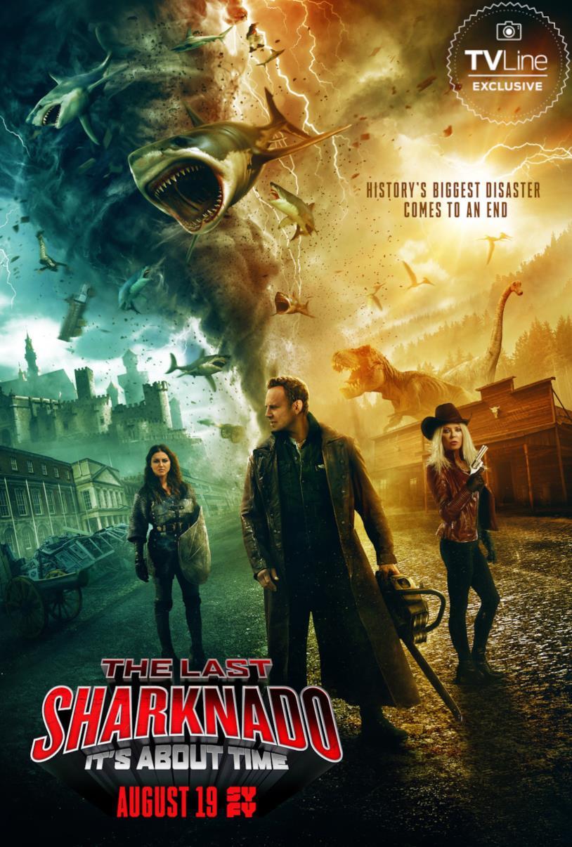 il poster di Sharknado 6