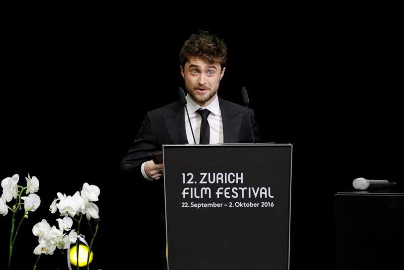 Daniel Radcliffe ad un evento