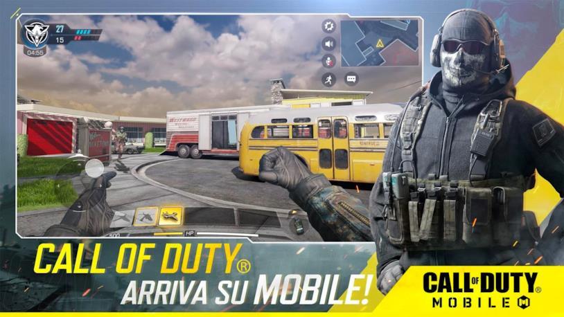Un'immagine promozionale per l'uscita di Call of Duty: Mobile