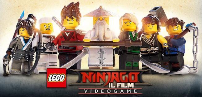 Il videogioco ufficiale di LEGO Ninjago - Il Film