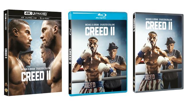 Creed II - Home Video - DVD - Blu-ray - 4K