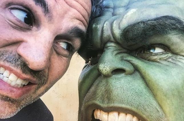 Hulk e Mark Ruffalo