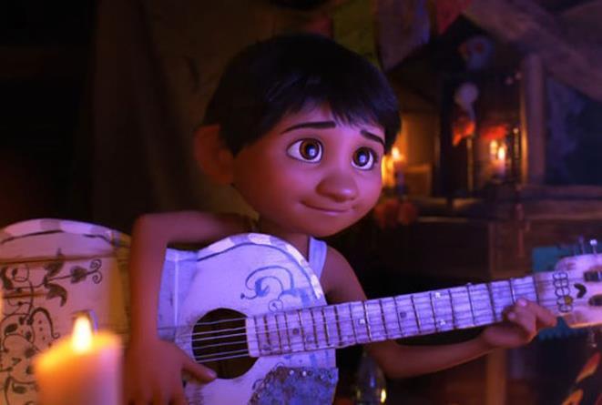 Una scena dal film Coco