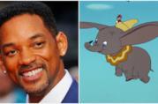 Un collage tra Will Smith e Dumbo