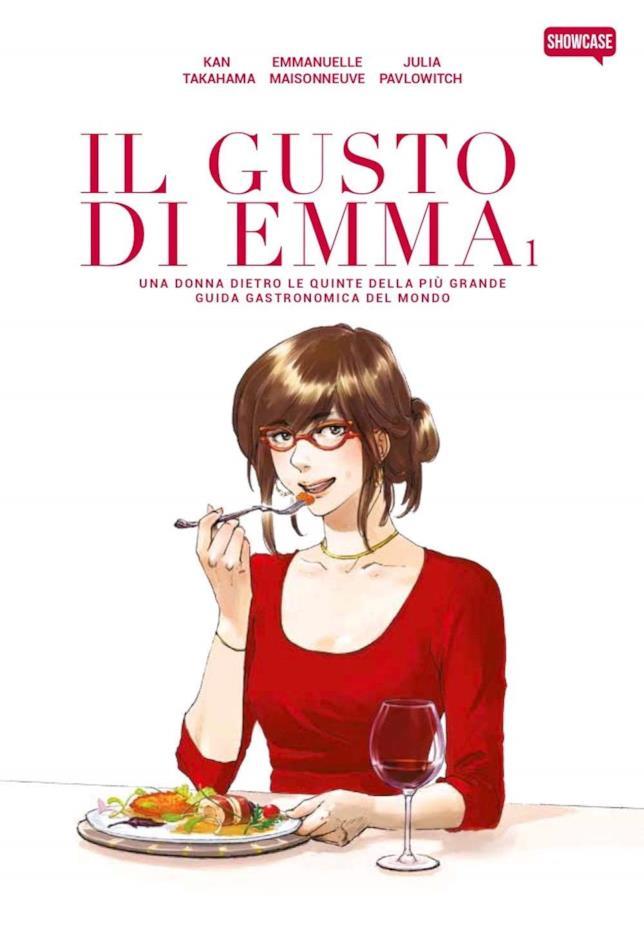 La copertina del primo volume di Il gusto di Emma