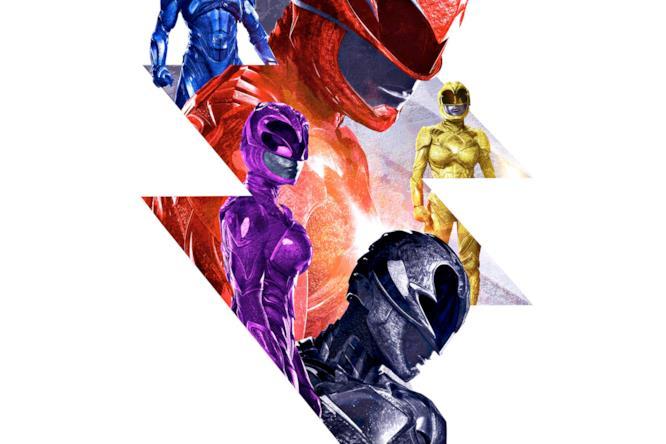I cinque nuovi Power Rangers riunti
