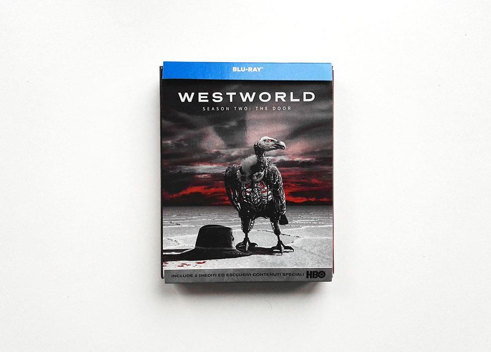 Cofanetto Blu-ray della stagione 2 di Westworld