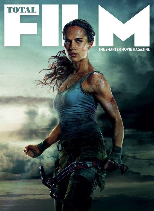 Alicia Vikander in copertina del magazine Total Film