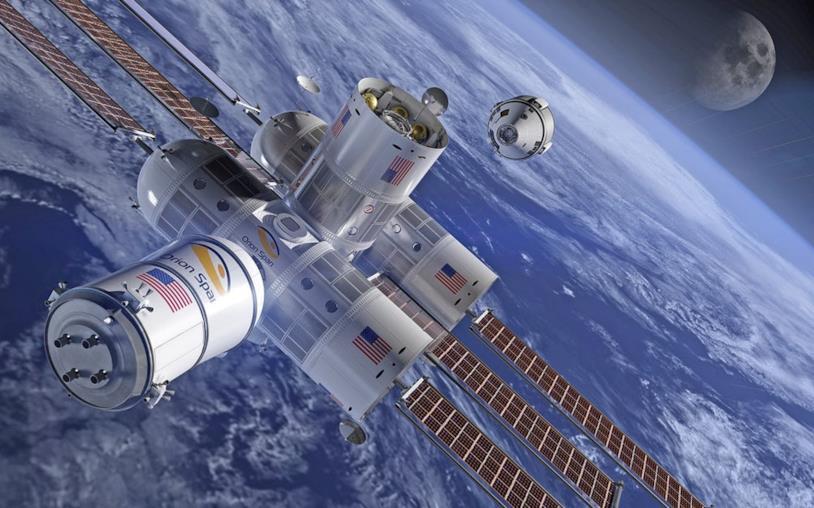Stazione spaziale Aurora: il progetto che presenta tre moduli
