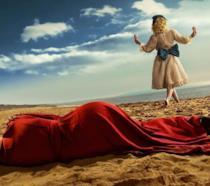 Un'immagine esclusiva di Feud, nuovo show di Ryan Murphy