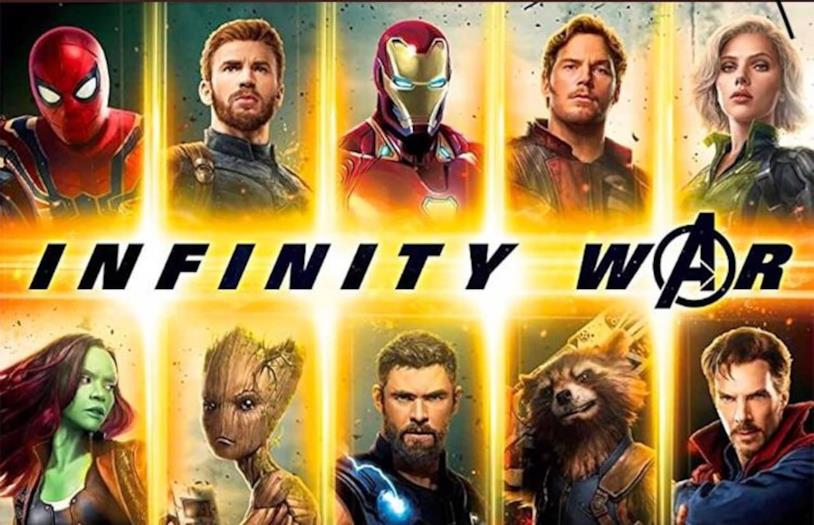 Eroi riuniti nella nuova promo art di Infinity War