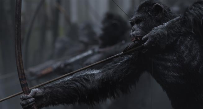 The War - Il pianeta delle scimmie, le scimmie in guerra