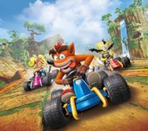 La copertina ufficiale di Crash Team Racing Nitro-Fueled