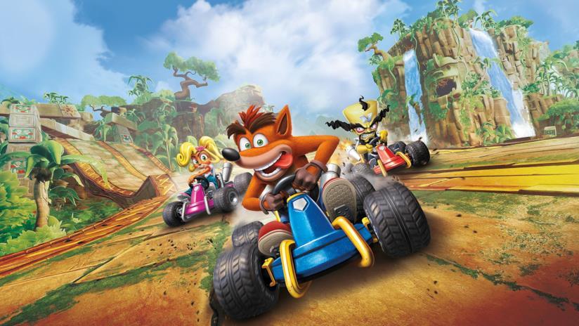 La copertina ufficiale di Crash Team Racing Nitro-Fueled