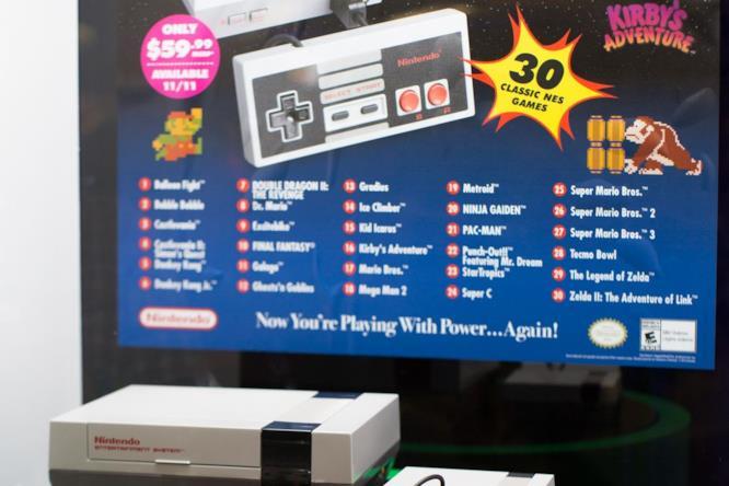Il NES torna in versione mini