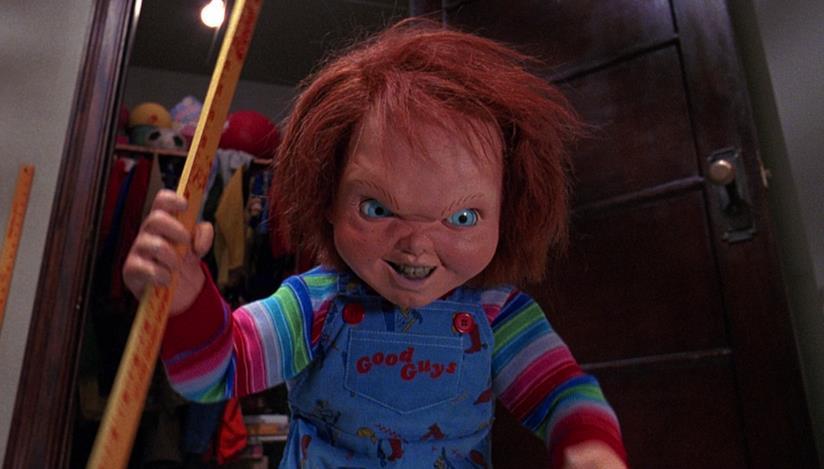 scena del film La bambola assassina