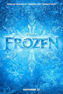 Il teaser poster col logo di Frozen