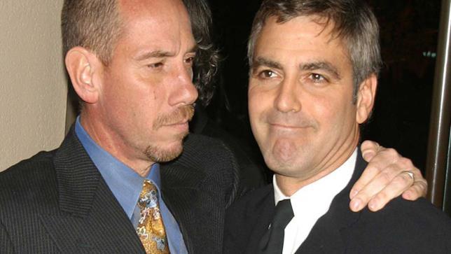 Miguel Ferrer e il cugino George Clooney