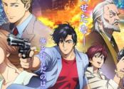 City Hunter i personaggi nel poster del nuovo film animato