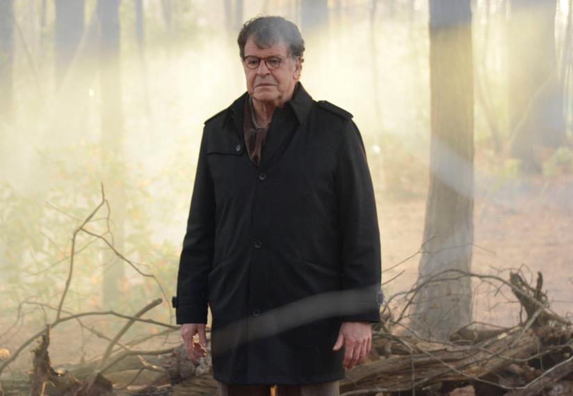 L'attore John Noble in una scena di Sleepy Hollow