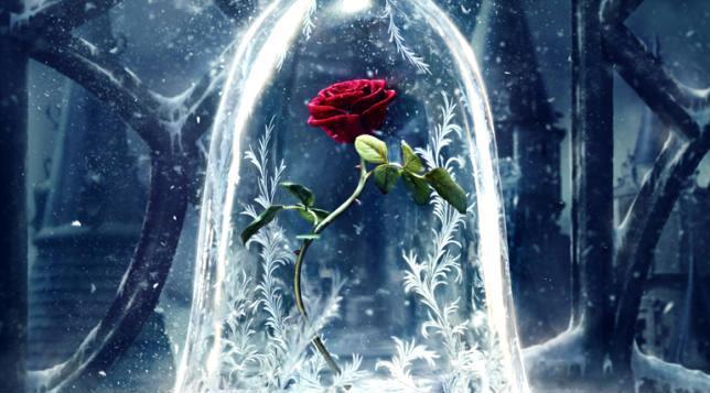 La rosta incantata nel primo poster di La Bella e la Bestia