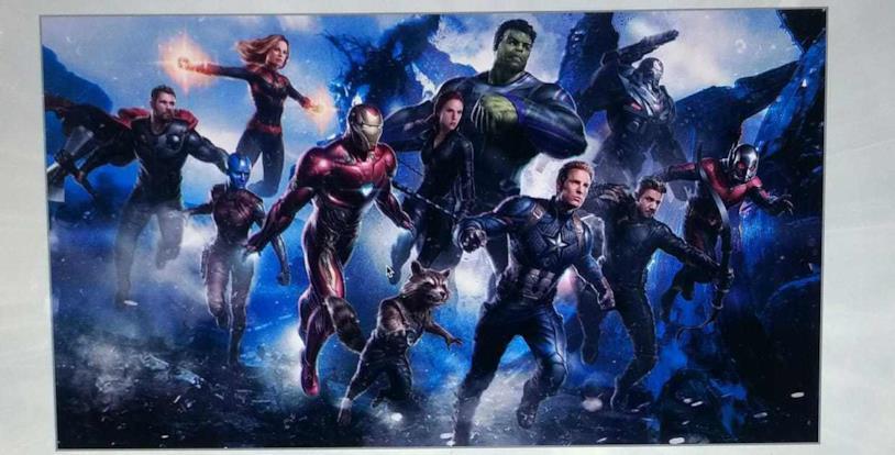 I Vendicatori in una possibile concept art di Avengers 4