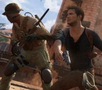 Nathan Drake combatte a mani nude in Uncharted 4