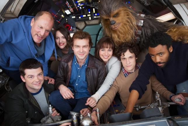 La prima foto dello spin-off di Star Wars su Han Solo
