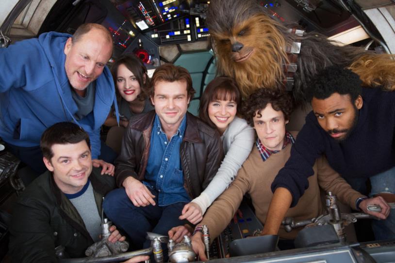 Il cast di Solo: A Star WarsStory